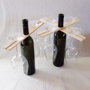 Weinglas Halter